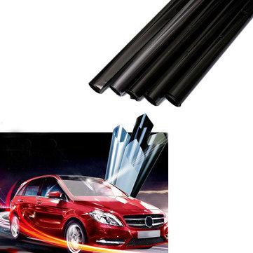 3mx50cm Coche Auto Home Ventana Vidrio Tinte Película Tintado LVT ULTRA LIMO Negro Oscuro