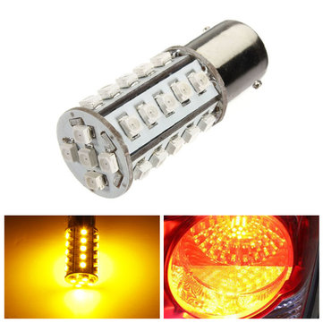 1156 BA15S 30 SMD LED Amber Yellow Tail Turn Signal Car Light Bulb Lamp