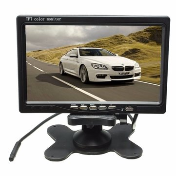 Wireless 7inch LCD Monitor & 18 LED IR Rear View Reversing Camera Night Version Kit