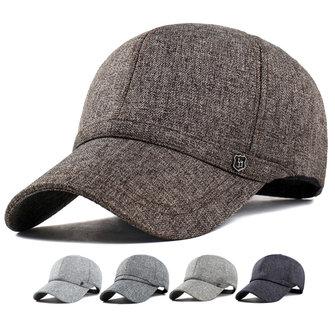Unisex boné de beisebol de lazer chapéu de sombra ao ar livre algodão e tecidos de linho