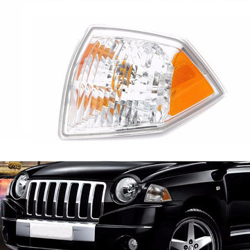 Left Side Marker Parking Turn Signal Corner Light For Jeep Compass 07-10