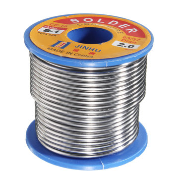 300g 2.0mm Welding Wire Welding Solder Wire 63/37 Tin Lead 2.0% Flux Roll