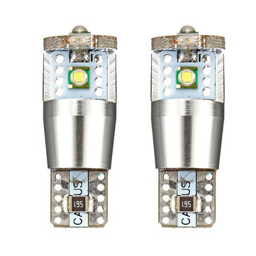 Pair T10 168 194 W5W 15W DC12V XPT LED Car Side Marker Lights with CANBUS No Error Free