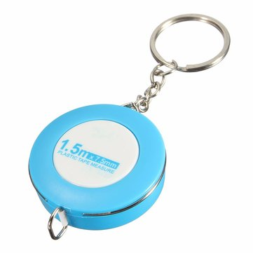 Raitool ™ 150CM Soft Rubber Tape Measures Sewing Tailor Body Measuring Tool With Key Ring