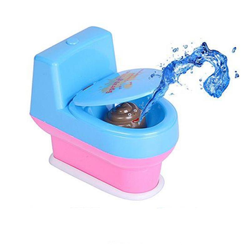Mini Prank Squirt Spray Water Toilet Closestool Joke Gag Toy Surprise Gift