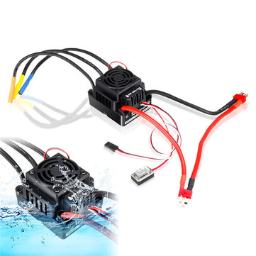 HobbyWing QuicRun WP-8BL150 Black 1/8 Brushless WaterProof 150A ESC For RC Car Parts