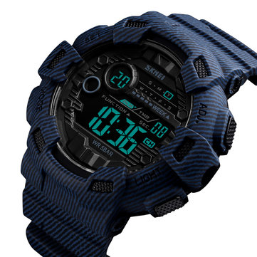 Original SKMEI 1472 Week Pantalla Alarm Cowboy Men Reloj digital
