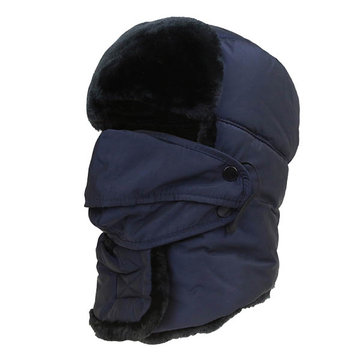 Mens Women Waterproof Skiing Warm Mask Face Neck Hat