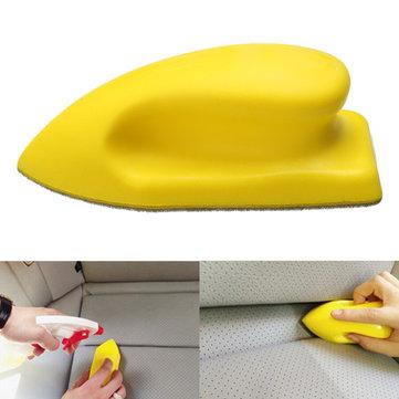 Губка уход нано cleaing щетка автомобиля кожаные сидения потертости приборной панели диван мытья bolosy
