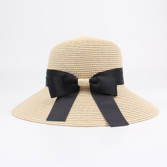 Women Summer Outdoor Travel Foldable Straw Hat