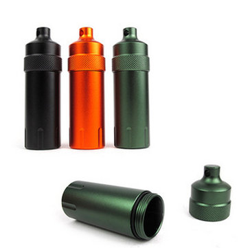 Mini Waterproof Tank Seal Bottle Case Container Holder EDC Box