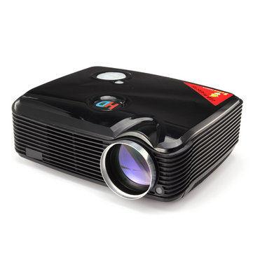 Protable PH5 2500 Lumens 3D LED Projector 360 Degree Flip With HDMI USB Inputs Home Theater