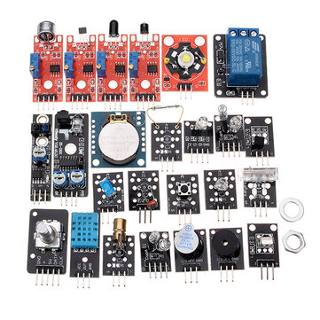 24 In 1 Sensor Module Board Kit For Arduino Plastic Bag Package