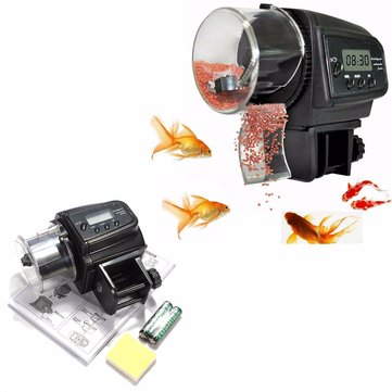 LCD Timer Automatic Aquarium Fish Tank Automatic Fish Feeder