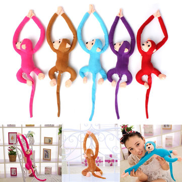 Cute Plush Long Arm & Tail Monkey Toy Doll Stuffed Toy Kids Gift