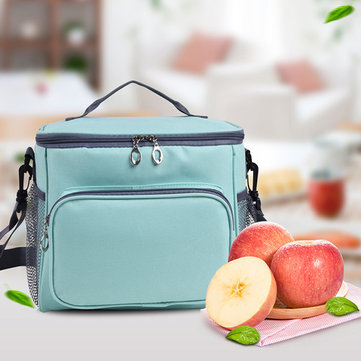 Women Oxford Shoulder Bag Lunch Bag
