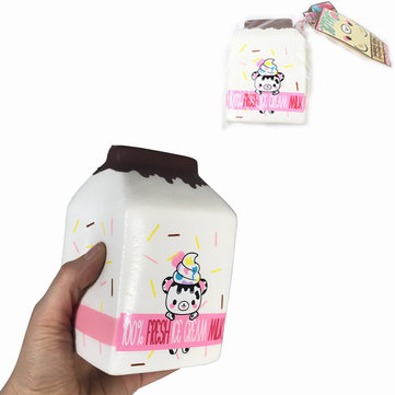 Yummiibear Milk Box Licensed Squishy Slow Rising Toy With Label
