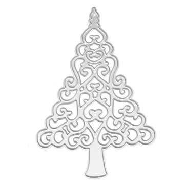 Christmas Tree Metal DIY Cutting Dies Scrapbook Photo Album Paper Card Embossing Craft