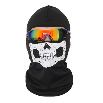 Mens and Womens Motorcycle Face Masks Skull Mask Face for Out Riding Tactical Skiing Face Mask