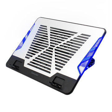 Oimaster CF-6542-B Genuine USB Laptop Cooler Cooling Pad Base Led Notebook Cooler Computer USB Fan Stand For Laptop PC 12-17 Inch