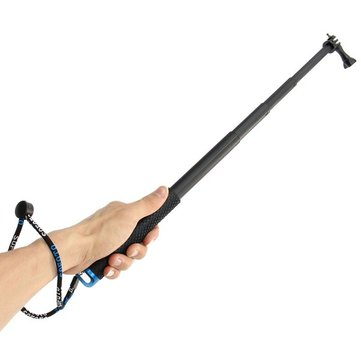 Extendable Telescopic Monopod Selfie Pole Stick for Gopro Hero 4 3 Plus 3 2 Camera