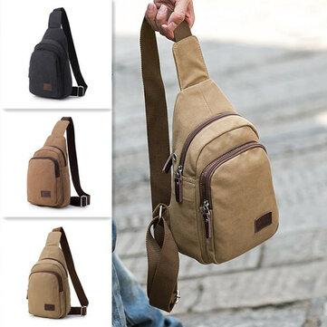 قماش عارضة متعددة الوظائف السفر حقيبة الصدر حقيبة كروسبودي