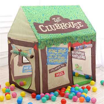 30 Inches Kids Tent Children Game Room Boys Girls Castle Cubby Play House Cottage Toys