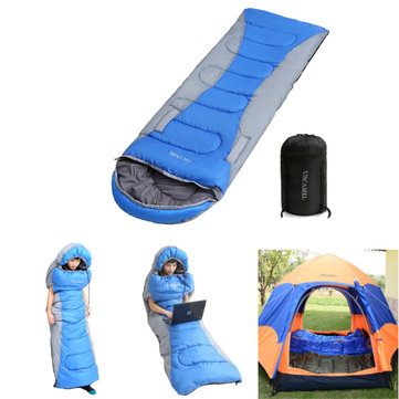 1.5kg Polyester Side Open Single Sleeping Bag Portable Ultra-light Outdoor Camping Bedding