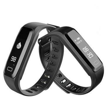 Bakeey G15 Blood Pressure Heart Rate Monitor Smart Wristband Bracelet For iPhone X 8Plus Oneplus5