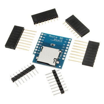 WeMos® Micro SD Card Shield For WeMos D1 Mini TF WiFi ESP8266 Compatible SD Wireless Module For Arduino
