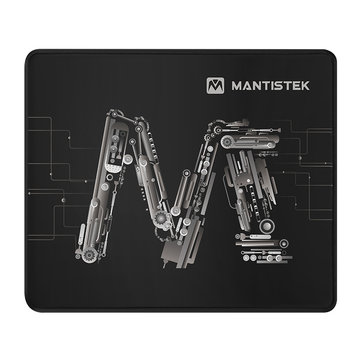 MantisTek® MP2 300*250*3mm Thick Non-Slip Overlock Gaming Mouse Pad Mat