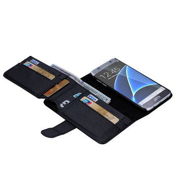 Multifunctional Wallet Card Slot Leather Case For Samsung Galaxy S7 Edge