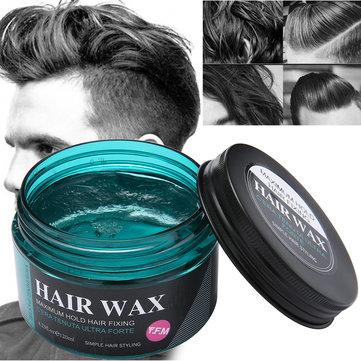Hair Wax Men Women Dye Gray Mud Styling Maker Tools