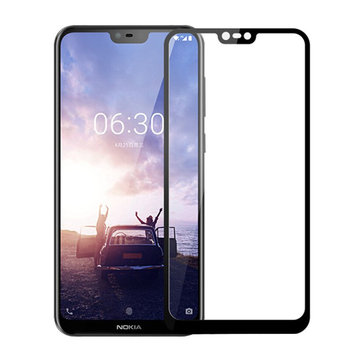 Mofi 9H Anti-explosion Ultra Thin Full Cover Tempered Glass Screen Protector for Nokia X6 X6.1 Plus