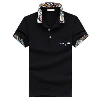 Men Casual Cotton Sports Polo T-shirt Size S-3XL
