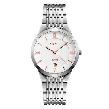 SKMEI 9139 Casual Style Calendar Men Women Wrist Watch