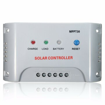 MPPT30 20/30A 12V/24V MPPT Solar Panel Regulator Charge Controller LED Indicator for PV