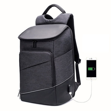 Men Oxford Waterproof Antitheft Backpack