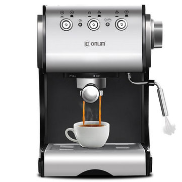 Donlim 20Bar DL-KF500S Semi Automatic Coffee Maker Barista Steam Home Use Machine Tools