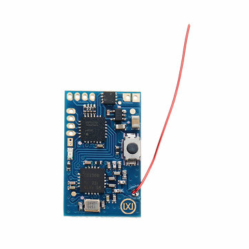 DasMikro FUTABA 7PX S-FHSS Micro 7CH 2.4G Rc Car Boat Surface Receiver w/ Bi-Directional Brushed ESC
