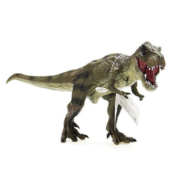 Cikoo New Jurassic World Park Tyrannosaurus Rex Dinosaur Plastic Toy Model Kids Gifts