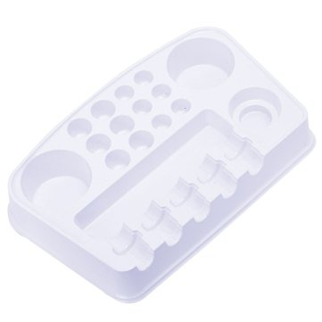 12Pcs Disposable Plastic Tattoo Palette Color Plate