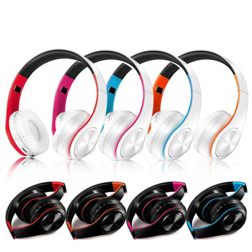 Foldable Colorfoul Bluetooth 4.0 Wireless Stereo Headphone with MIC