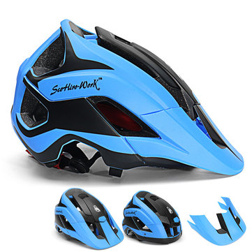 SCOHIRO-WORK Water Label Version Bike Helmet Mountain Bicycle Cycling Ultralight Helmet