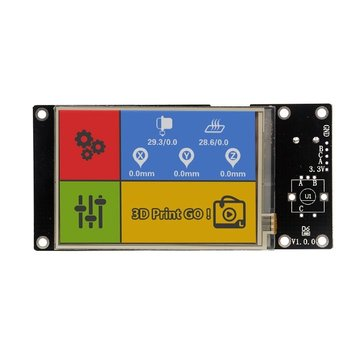 Lerdge® 3.5 Inch 480*320 High-resolution Color LCD Touch Screen For 3D Printer Controller Board