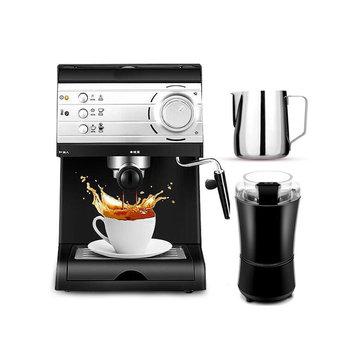 DL-KF6001 Semi Automatic Coffee Maker Barista Espresso Machine Milk Steamer