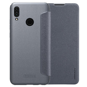 NILLKIN Flip Full Cover Shockproof PU Leather + Hard PC Protective Case for Huawei Honor 10 Lite