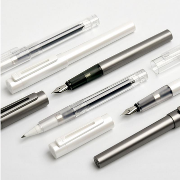 Original Xiaomi Mijia Kaco SKY Fountain Pen Ball Pen Writing Set Black Barrel Classic Design