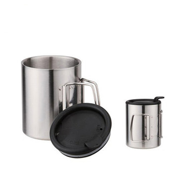Fire-Maple 320ML Camping Picnic Cup Insulation Vacuum Thermal Water Mug Stainless Steel FMP-303