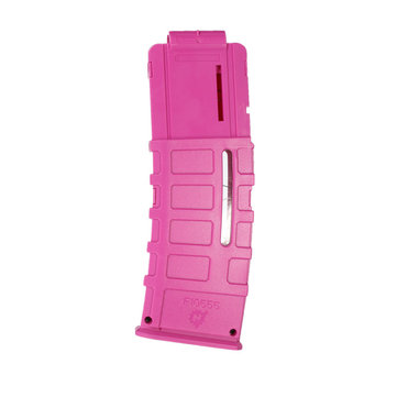 WORKER Mod 15Darts Plastic Clip Magazine For Nerf Modify Stryfe Elite Retaliator Blaster Toy Rose Red
